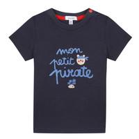 Textiel Jongens T-shirts korte mouwen Absorba NADINE Marine