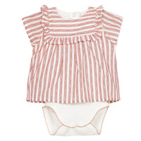 Textiel Meisjes Pyjama's / nachthemden Absorba KYRAN Orange