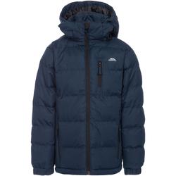 Textiel Jongens Dons gevoerde jassen Trespass Tuff Donkerblauw