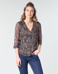 Textiel Dames Tops / Blousjes Vero Moda VMGLAMMY Marine