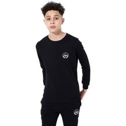 Textiel Kinderen T-shirts met lange mouwen Hype  Zwart