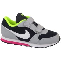 Schoenen Kinderen Running / trail Nike MD Runner 2 TD Noir, Gris, Vert clair