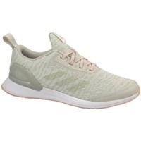 Schoenen Kinderen Running / trail adidas Originals Rapidarun X Knit J Beige, Olive