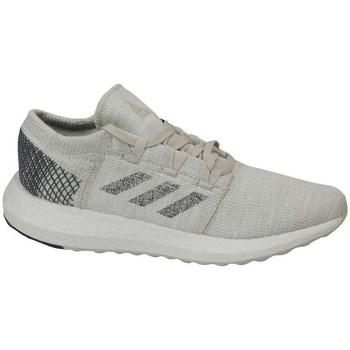 Schoenen Kinderen Running / trail adidas Originals Pureboost GO J Gris