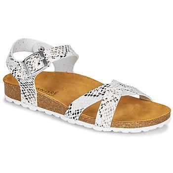 Schoenen Dames Sandalen / Open schoenen André REFLEXE Wit