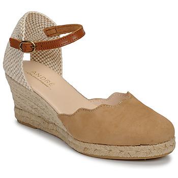 Schoenen Dames Sandalen / Open schoenen André BABI Taupe
