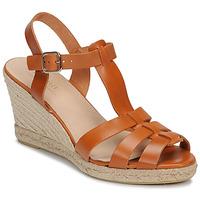 Schoenen Dames Sandalen / Open schoenen André BABORD Cognac