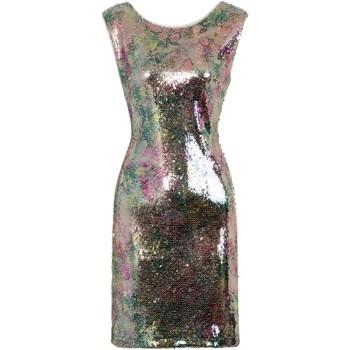 Textiel Dames Korte jurken Girls On Film  Zilver