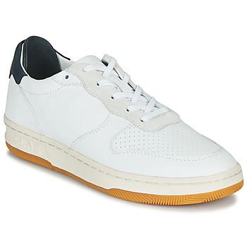Schoenen Lage sneakers Clae MALONE Wit / Blauw