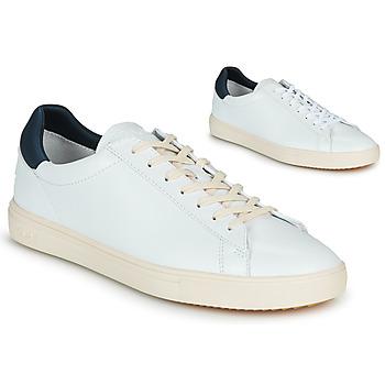 Schoenen Lage sneakers Claé BRADLEY Wit / Blauw