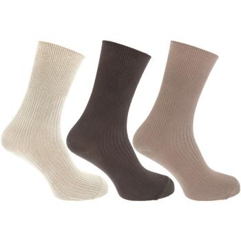 Accessoires Heren Sokken Universal Textiles  Crème/Bruin/Beige