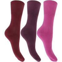Accessoires Dames Sokken Universal Textiles  Paarse tinten