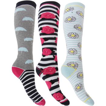 Accessoires Dames Sokken Universal Textiles  Roos/daisy/paraplu