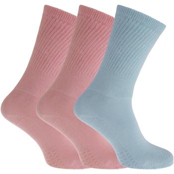 Accessoires Dames Sokken Universal Textiles  Roze/Blauw
