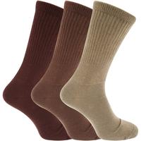 Accessoires Heren Sokken Universal Textiles  Bruine tinten