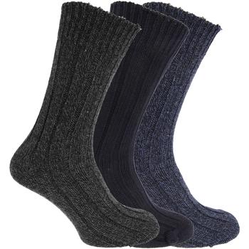 Accessoires Heren Sokken Universal Textiles  Marine/Grijs/Blauw