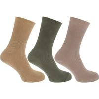 Accessoires Heren Sokken Universal Textiles  Beige/Groen
