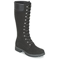 Schoenen Dames Hoge laarzen Timberland WOMEN'S PREMIUM 14IN WP BOOT Zwart / Nubuck