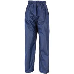 Textiel Kinderen Trainingsbroeken Result R226J Marineblauw