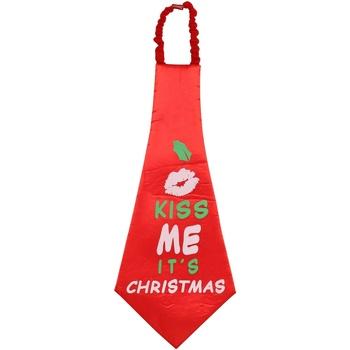 Textiel Krawatte und Accessoires Christmas Shop CS252 Rood