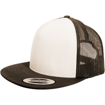 Accessoires Pet Yupoong Snapback Bruin/Wit/Bruin