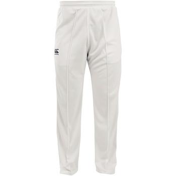 Textiel Heren Trainingsbroeken Canterbury CN156 Crème
