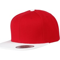 Accessoires Pet Yupoong Snapback Rood/Wit