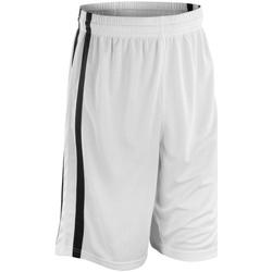 Textiel Heren Korte broeken / Bermuda's Spiro S279M Wit/zwart