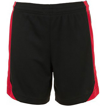 Textiel Kinderen Korte broeken / Bermuda's Sols 01720 Zwart/Rood