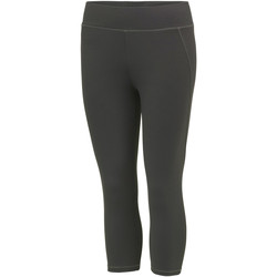 Textiel Dames Leggings Awdis JC086 Houtskool