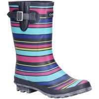 Schoenen Dames Regenlaarzen Cotswold  Veelkleurig/Stripe