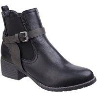 Schoenen Dames Laarzen Divaz  Zwart