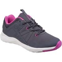 Schoenen Dames Lage sneakers Cotswold  Grijs/Fuchsia/Wit