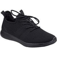Schoenen Dames Lage sneakers Divaz  Zwart