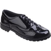 Schoenen Meisjes Derby Hush puppies  Zwart