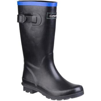 Schoenen Kinderen Regenlaarzen Cotswold  Zwart/Blauw