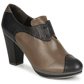 Schoenen Dames Low boots Audley GETA LACE Brown
