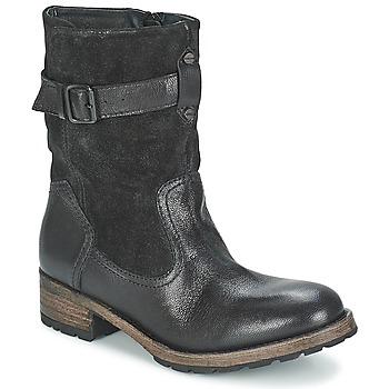Schoenen Dames Laarzen Pataugas DECK Zwart