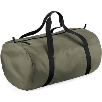 Tassen Reistassen Bagbase BG150 Olijfgroen / Zwart