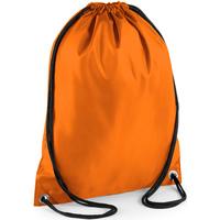 Tassen Kinderen Sporttas Bagbase BG5 Oranje