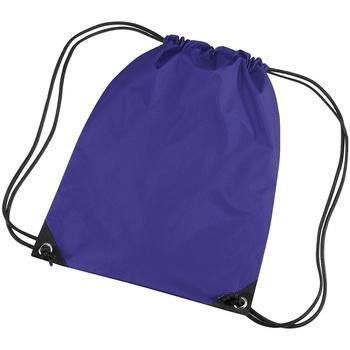 Tassen Kinderen Sporttas Bagbase BG10 Paars