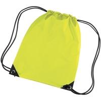 Tassen Kinderen Sporttas Bagbase BG10 Fluorescerend Geel