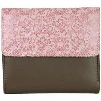 Tassen Dames Portefeuilles Eastern Counties Leather  Taupe/roze folie