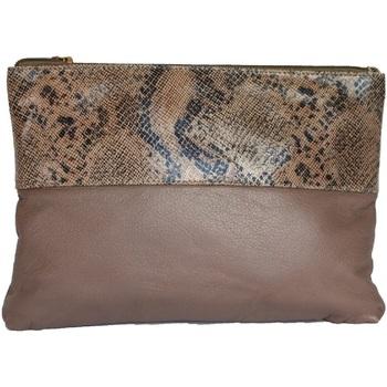 Tassen Dames Tasjes / Handtasjes Eastern Counties Leather  Taupe/Beige folie