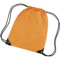Tassen Kinderen Sporttas Bagbase BG10 Fluorescerende sinaasappel