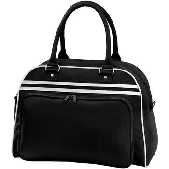 Tassen Sporttas Bagbase BG75 Zwart/Wit