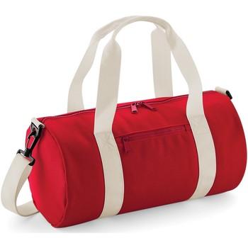 Tassen Sporttas Bagbase  Klassiek rood/wit