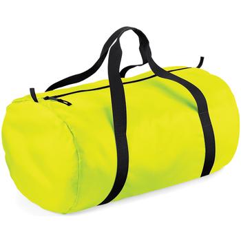 Tassen Reistassen Bagbase BG150 Fluorescerend Geel/ Zwart