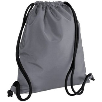 Tassen Kinderen Sporttas Bagbase BG110 Grafietgrijs/Zwart