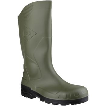 Schoenen Regenlaarzen Dunlop DEVON  WELLY Groen/zwart